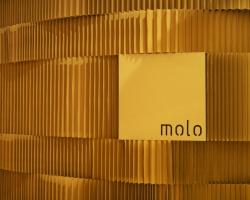 Лентовидные модули из крафт-бумаги molo design