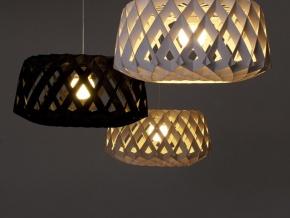 Showroom Finland PILKE Light - светильник из березы