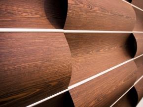 Декоративные объемные настенные панели Wovin Wall Wave Wall